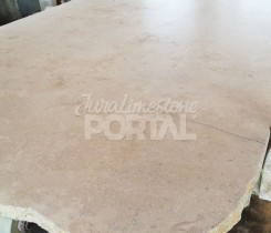 Jura limestone finishing