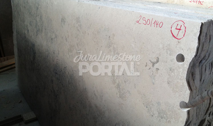 Jura Grey limestone slabs