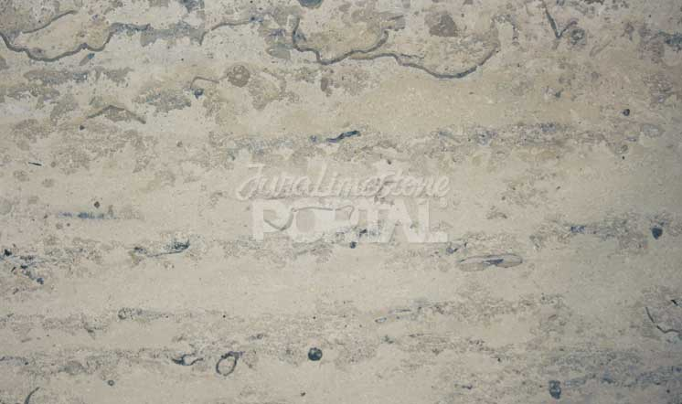 Jura Grey limestone vein-cut honed