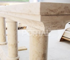 Jura limestone balusters production
